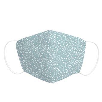 Mascarilla Adulto Pekebaby de tela reutilizable 2 capas + bolsillo con 1 filtro incluido, diseño 019 TWIGGY