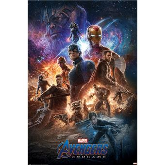 Maxi Poster Avengers Endgame From The Ashes