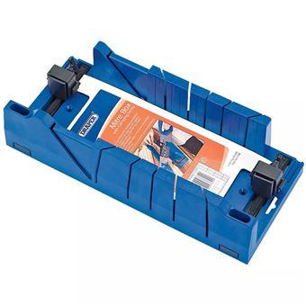 Caja de ingletes Expert con abrazaderas Draper Tools, Azul 09789