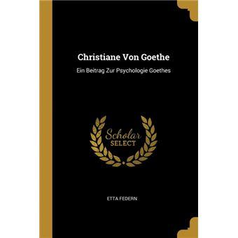 Serie ÚnicaChristiane Von Goethe Paperback