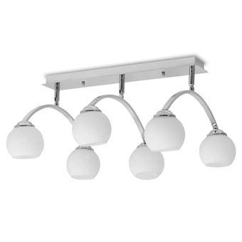 Lámpara de techo vidaXL, para 6 bombillas G9 240 W