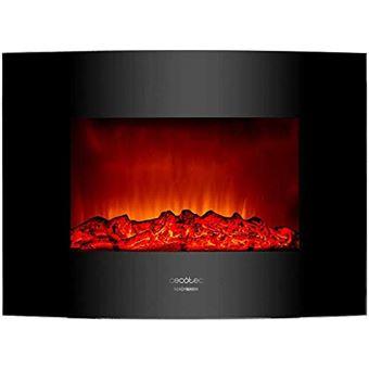 Chimenea eléctrica Cecotec Ready Warm 2200 Curved Flames 2000 W,