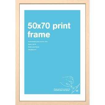 marco haya para posters tama o 50x70 cm marcos fotos los mejores precios fnac. Black Bedroom Furniture Sets. Home Design Ideas