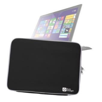 """Funda Negra Resistente Al Agua Para Lenovo FLEX 3 15.6"""" / ThinkPad T550 / Yoga 15 - ¡Protección Máxima! - Alta Calidad Por DURAGADGET"""