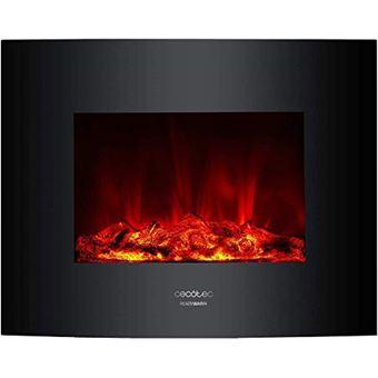 Chimenea eléctrica Cecotec Ready Warm 2600 Curved Flames 2000 W