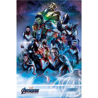 Maxi Poster Avengers Endgame Quantum Realm Suits