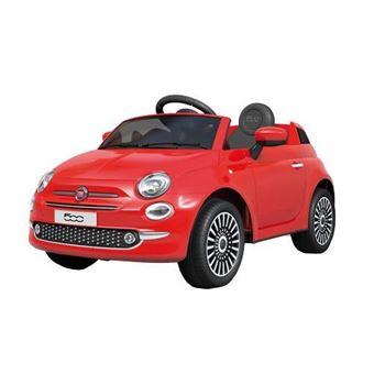 Coche de Batería FIAT 500 Rojo Motoor Kids