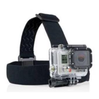 Phoenix Technologies PHGP23S - Correa de cabeza ajustable para cámaras sport & GoPro Hero 4/3+/3/2/1 (con antideslizante elástico) color negro
