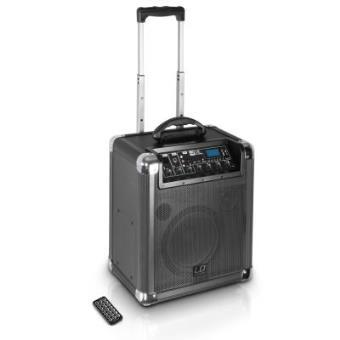 Caja Amplificada a baterias 10in 50W Bluetooth