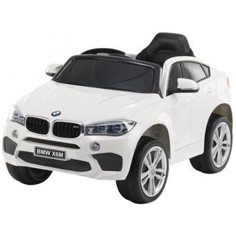 Coche Eléctrico BMW X6M Blanco Motoor Kids