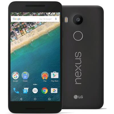 LG - LG Google Nexus 5x 16gb Preto Carbono