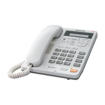 Telefono con Contestador Panasonic Kx-Ts620 Blanco