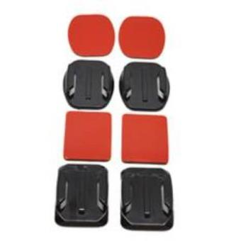 Soporte adhesivo 3m curvos + planos phoenix para camaras sport & gopro hero 4/3+/3/2/1 flat and curved adhesive mounts