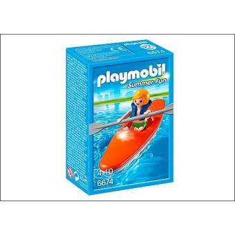 PLAYMOBIL 6674 Summer Fun - Niño con Kayak