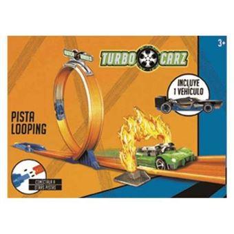 Turbo wheelz pista looping + 1 coche