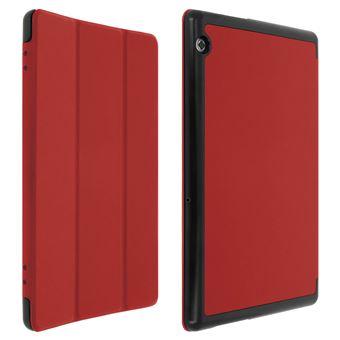 gran descuento de 2019 precios de liquidación exuberante en diseño Funda libro Huawei Mediapad T5 10'' - Función soporte Roja ...