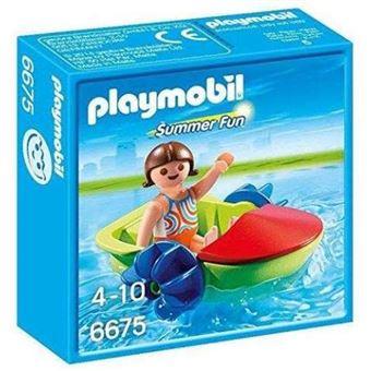 PLAYMOBIL 6675 Summer Fun - Niña con barca