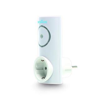 Enchufe inteligente Wifi con alarma Domos