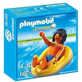 PLAYMOBIL 6676 Summer Fun - Chico con barca para rafting
