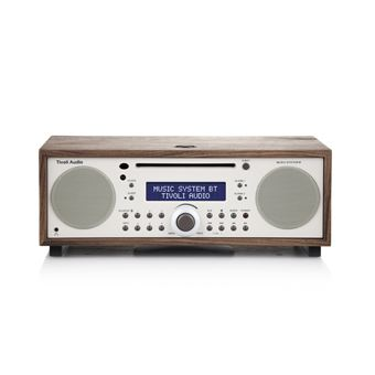 Sistema Hi-Fi todo en uno AM/FM con Bluetooth Tivoli, Audio Music System BT, Walnut / Beige