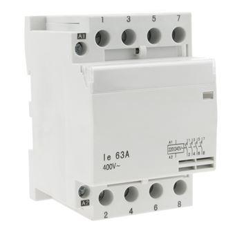 Interruptor contactor modular BeMatik 4NO 63A