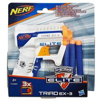 Lanzador Nerf N-Strike Elite Triad EX-3 Hasbro A1690EU4