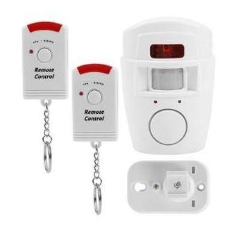 Sistema de alarma de alerta inteligente inalámbrico 2 en 1 Detector de movimiento PIR de seguridad