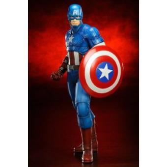 Figura Estatua Marvel Capitán América Artfx 19 cm