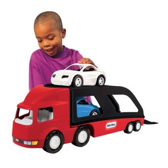 Camión de transporte coches 484964, Rojo/ Negro Little Tikes
