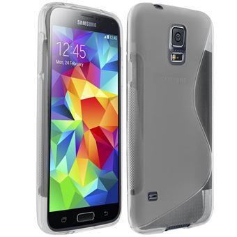 1bf29eab8d6 Carcasa Samsung Galaxy S5 / S5 Neo silicona flexible S-Line transparente -  Accesorios de coche para el teléfono móvil - Los mejores precios | Fnac