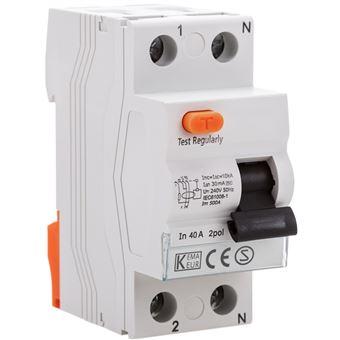 Interruptor diferencial BeMatik 2P 40A 10kA