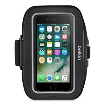 0a72a836fde Belkin Sportfit Plus - Brazalete Deportivo Para Iphone 7 Plus, Color Negro  - Fundas y carcasas para teléfono móvil - Los mejores precios | Fnac