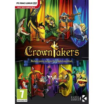 Crowntakers (pc Dvd) [importación Inglesa]