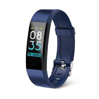 Pulsera Inteligente Monitorizadora de Actividad Muvit Miosmb011 Tensio Lite Azul con Pulsómetro