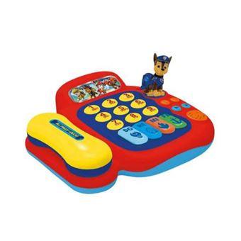 Piano y telefono Patrulla canina actividades con figura