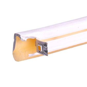 Tira LED NEON flexible 25m, Color luz Blanco Cálido 3000K 12VDC 8 * 16mm, corte 2,5cm, 120 led/m SMD2835
