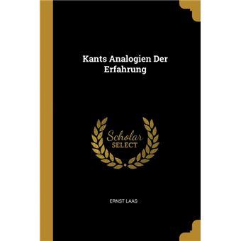 Serie ÚnicaKants Analogien Der Erfahrung Paperback