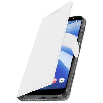 71b7e7812f8 Funda libro billetera para HTC U12 Life - Blanca - Fundas y carcasas para  teléfono móvil - Los mejores precios | Fnac