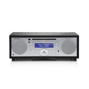 Sistema Hi-Fi todo en uno FM/DAB+ con Bluetooth Tivoli, Audio Music System+, Black Ash / Silver