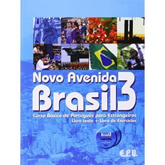 Novo Avenida Brasil. Curso Básico De Português Para Estrangeiros - Volume 3