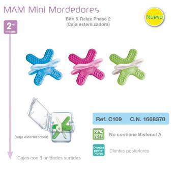 Mini Mordedor Bite & Relax 2 Caja Esterilizadora
