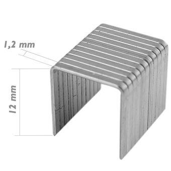 Recambio de grapas Tolsen 12x1.2 mm 1000pcs de herramientas