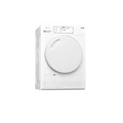 Secadora Whirlpool HDLX 80312 A+ Freestanding 8kg Front-load White