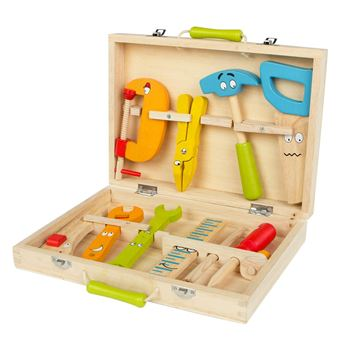Maletín de herramientas madera - WOOMAX