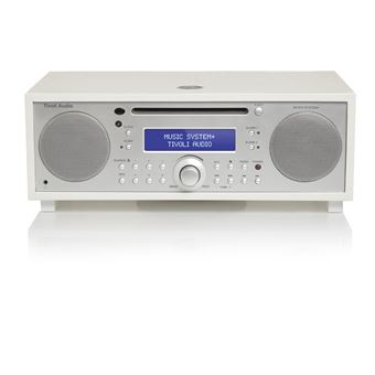 Sistema Hi-Fi todo en uno FM/DAB+ con Bluetooth Tivoli, Audio Music System+, White / Silver