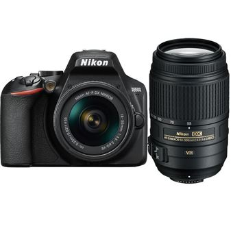 Nikon D3500 + AF-P DX 18-55mm f/3.5-5.6G VR + AF-S DX 55-300mm f/4.5-5.6G ED VR