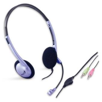 Auriculares Genius HS-02B/Microfono