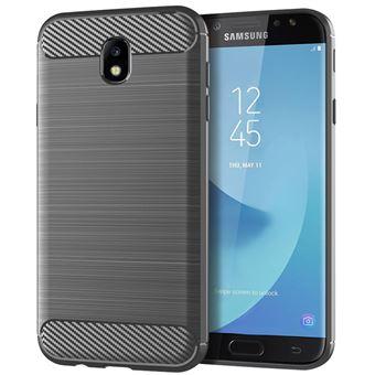 Funda protectora para Samsung Galaxy J7 Pro, Gris
