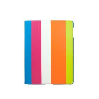 Funda Soporte para iPad 3/4ª Generación (Retina) Uniq Streak Cheery Rosa/Azul