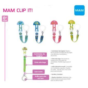 Clip it Para Chupetes Mam